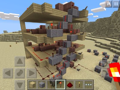 Geek Pocket Minecraft - The Redstone 4-bit Counter Project