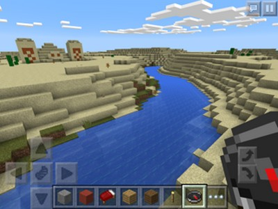 Desert Temple (Pyramid) Overlooking River